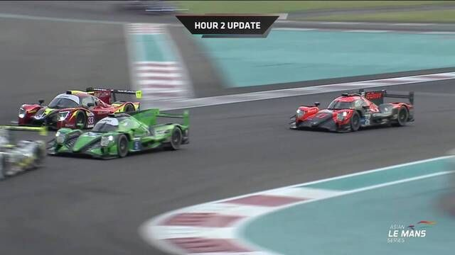 Asian Le Mans Series: Round 4 - Abu Dhabi halfway highlights
