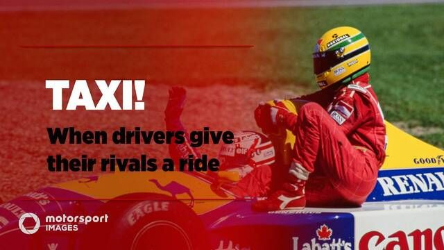 Grand Prix Greats – Taxi! When F1 drivers hitch a ride
