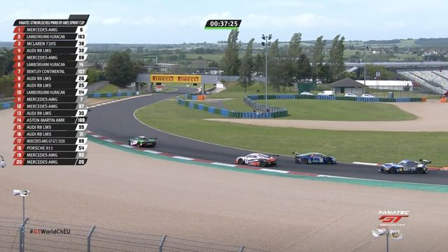 Magny-Cours Race 2: Costa spins