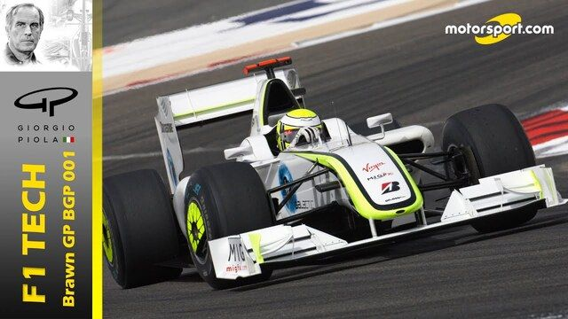 F1 Tech: Brawn GP 001, un