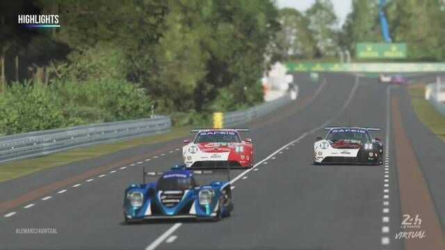 Virtual 24 Ore di Le Mans: Highlights 5a Ora