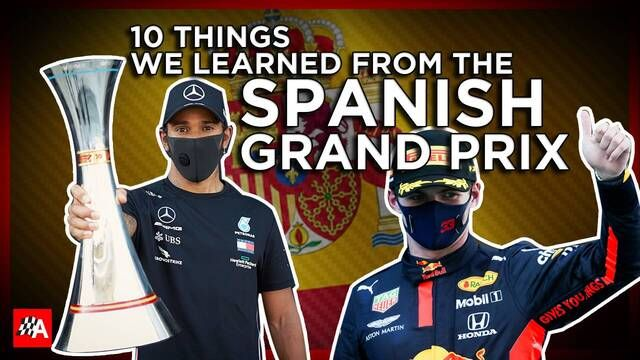 Formula 1: 10 things we learned from the Spanish Grand Prix