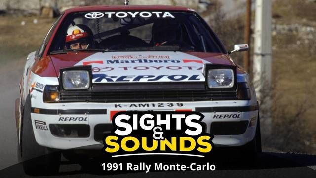 Sights & Sounds: 1991 Rally Monte-Carlo