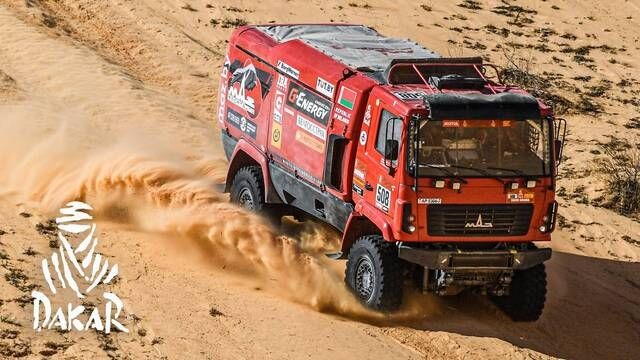 Dakar 2020: Day 5 Highlights - Trucks