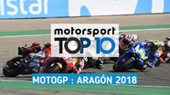 Top 10 - Grand Prix d'Aragón