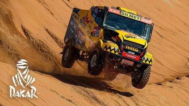 Dakar 2020: Day 11 Highlights - Trucks