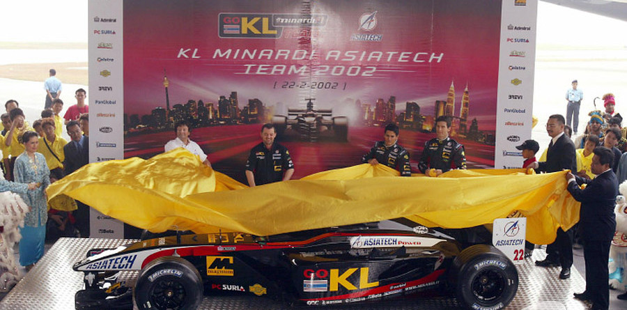 Minardi presents the PS02 Formula One challenger