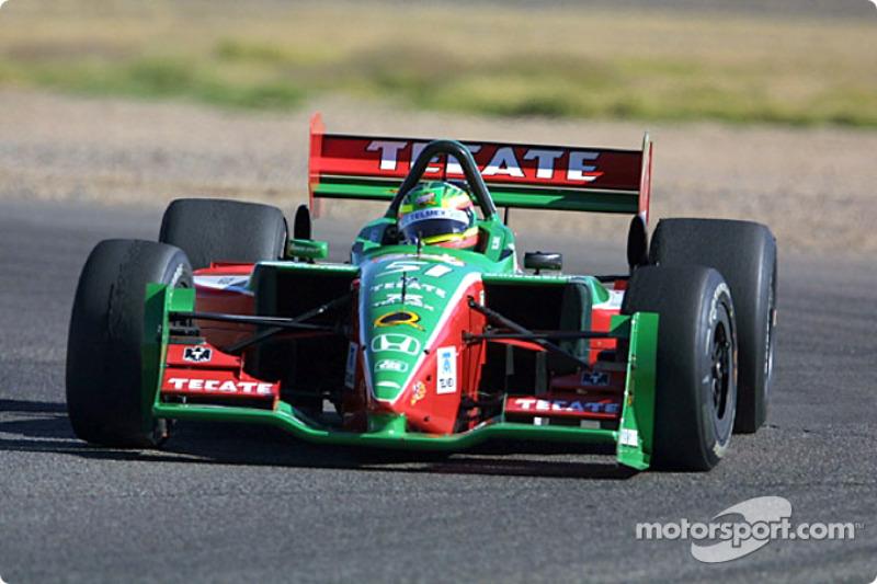 CHAMPCAR/CART: Luis D?az prob? con Fern?ndez Racing