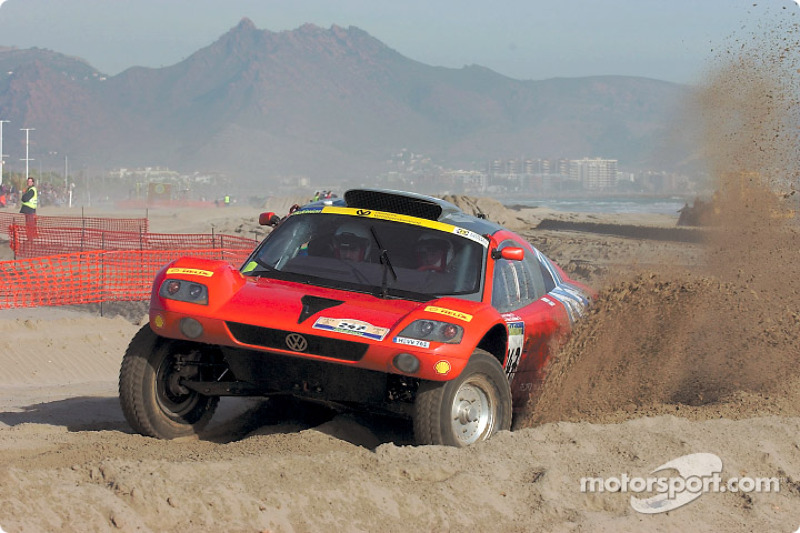 Dakar: Volkswagen stage three report