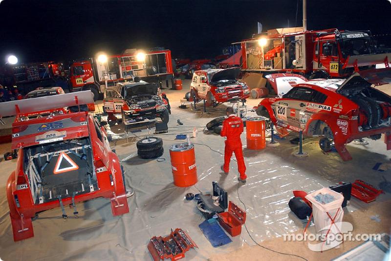 Dakar: Mitsubishi stage six report