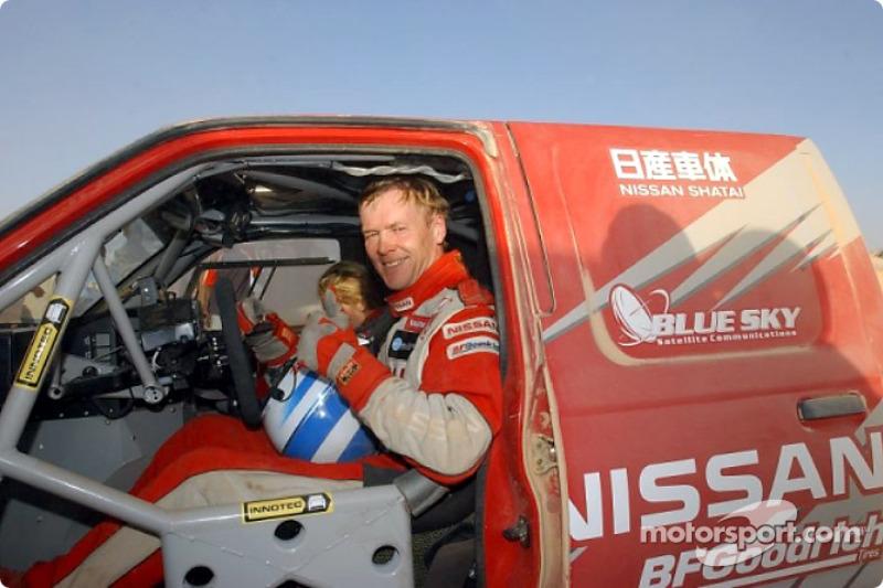 Dakar: Nissan stage nine report