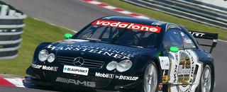 DTM Aerodynamic tests for Mercedes