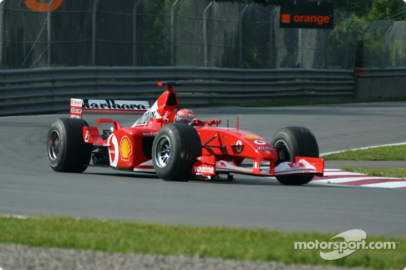 New type of Formula 1 for Schumacher