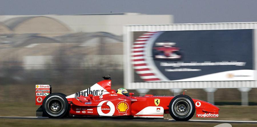 Massa learning at Ferrari