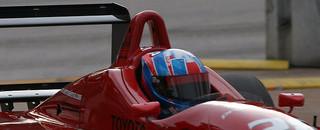 Atlantic Allmendinger ties record with Miami pole