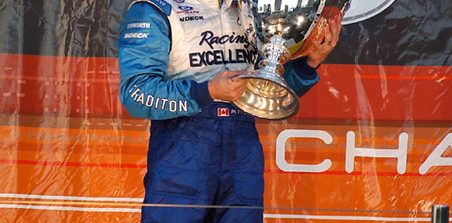 CHAMPCAR/CART: Paul Tracy receives Canadian Award of Excellence