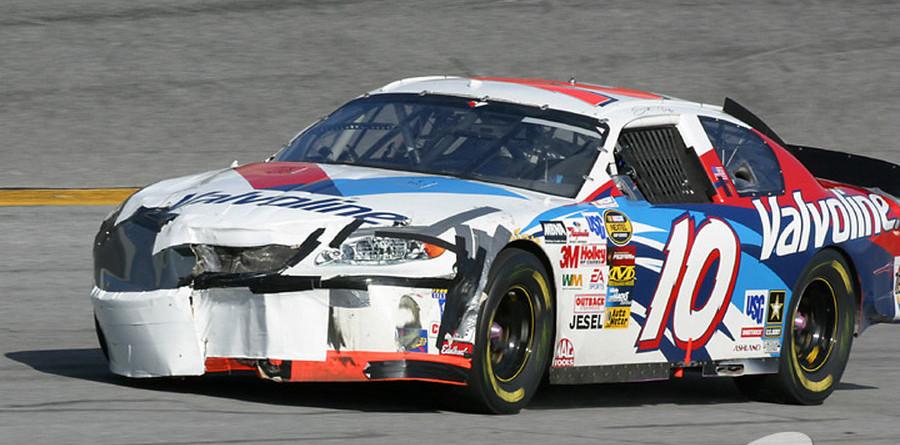 Daytona big one came at lap 70