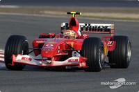 BAR and Ferrari take over test times