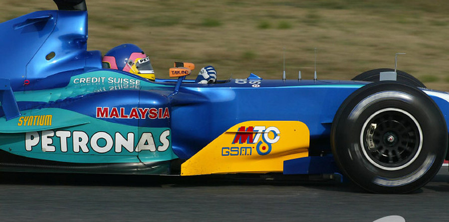 Villeneuve's turn at top of test times
