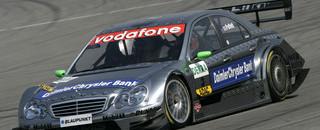 DTM Paffett heads Mercedes trio for Lausitz pole