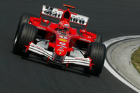 Schumacher on pole for Hungarian GP