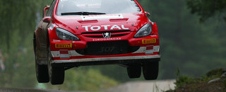 WRC Gronholm jumps to lead in his home land
