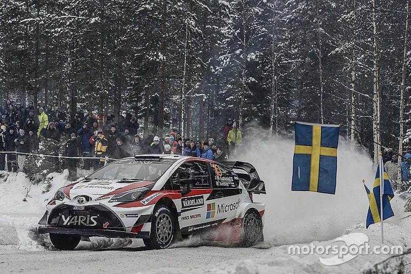 WRC Rallye Schweden: Zeitplan, Route, Livestream