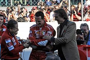 Formula 1 Breaking news Montezemolo: Marchionne