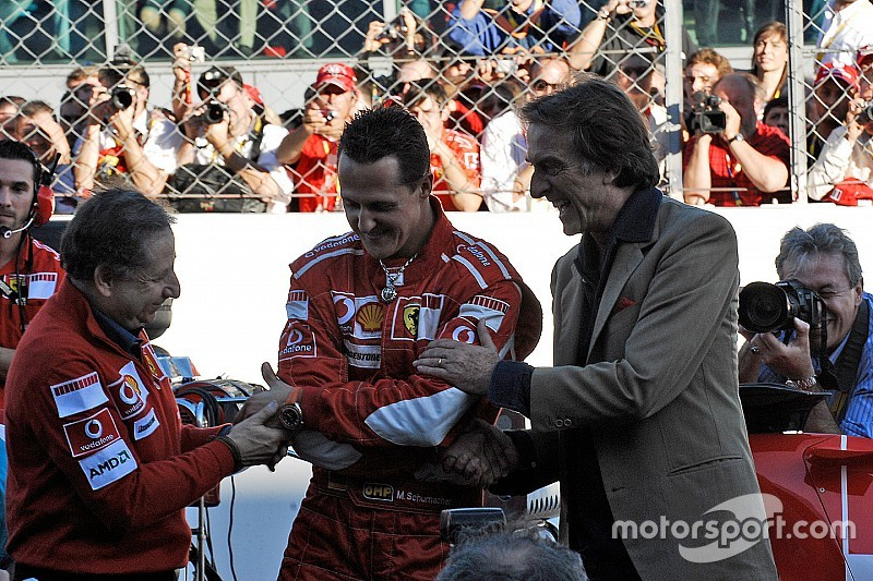 "Montezemolo: Marchionne ""jealous"" of Ferrari's past glories"