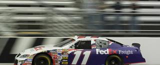 NASCAR Cup Hamlin fastest in Martinsville Happy Hour