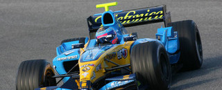 Formula 1 Montagny fastest at the end of testing