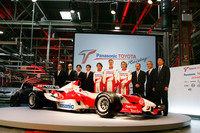 Toyota presents the TF106 in France