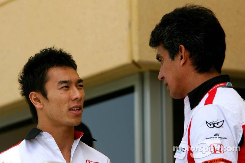 Super Aguri interview with Suzuki