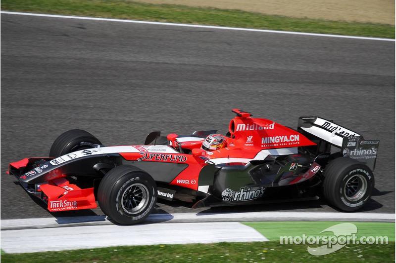 Monteiro holds on for Imola finish