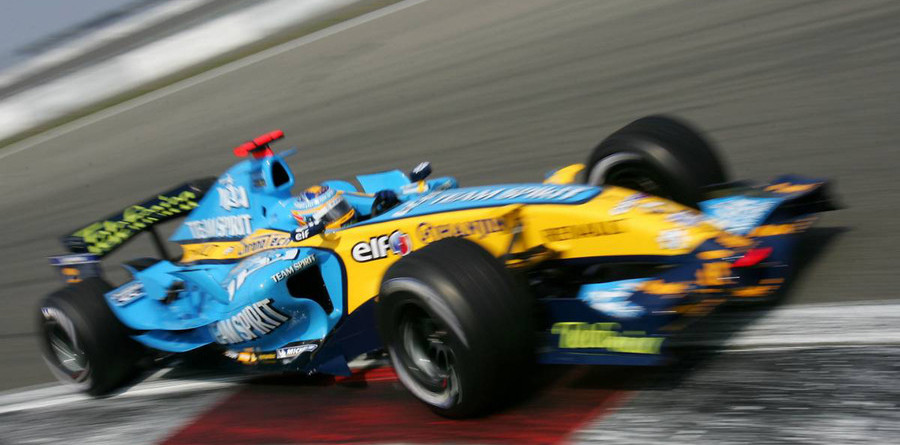 Alonso takes pole in tense European GP qualifying