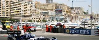 Formula 1 Wurz fastest on Monaco GP Thursday