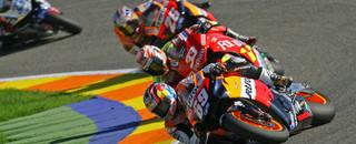 MotoGP Hayden is 2006 champion as Rossi falls in Valencia