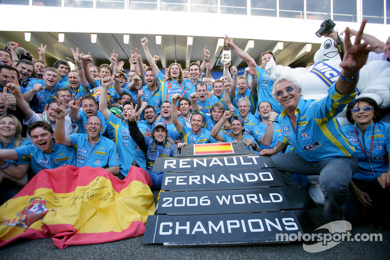 The champion Renault in numbers