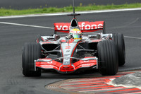 Hamilton leads on day one of Spa test