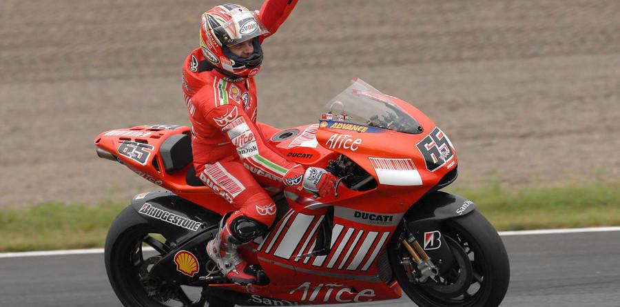 Capirossi takes Motegi, Stoner the championship