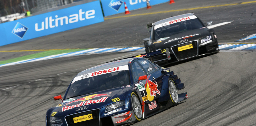 Ekstrom, Audi dominate at Hockenheim