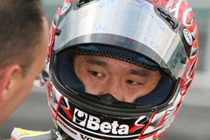 World Superbike Haga hurt in US event but will continue on