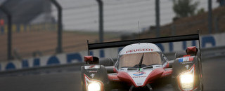 Le Mans Peugeot recovers from test day crash