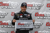 Carpentier earns pole at New Hampshire