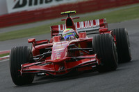Massa makes quick work of British GP practice