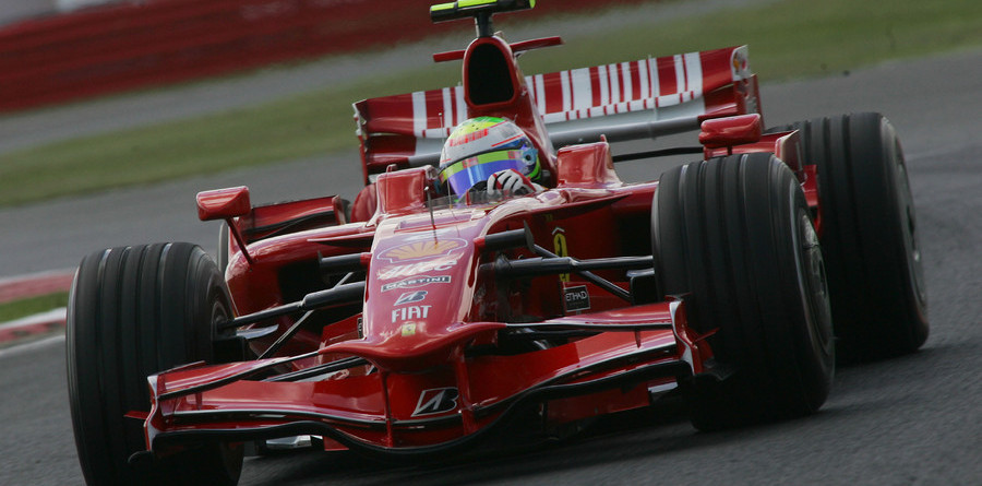 Massa makes quick work of British GP practice