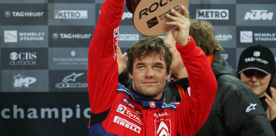 Loeb wins Race of Champions at Wembley