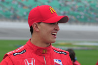 Rahal leads NHLR front row at Kansas