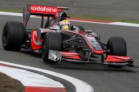 Hamilton quickest in German GP Friday practice