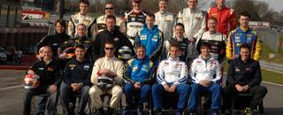 BTCC Bumper 23-car grid for BTCC in 2010
